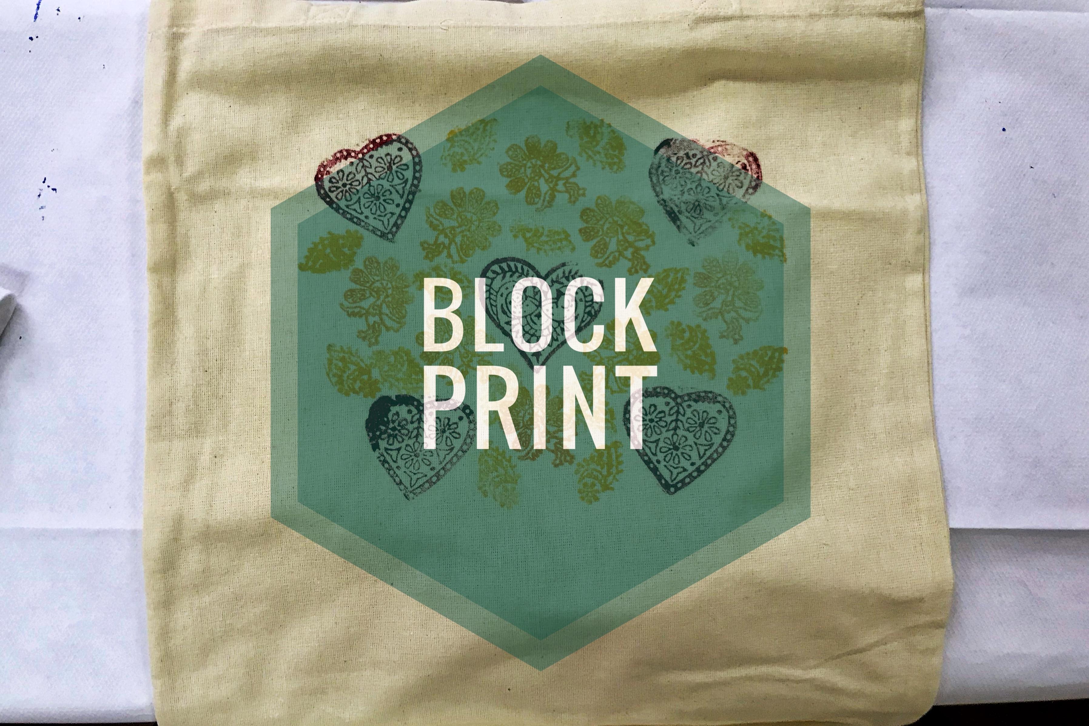 Block Print na Dolnym Śląsku, w Sudetach