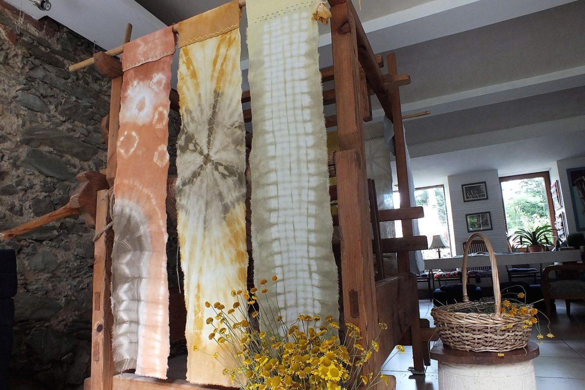 Otulas - warsztaty eko printingu naturalnymi barwnikami @ Ekomuzeum Tkactwa i Barwienia Naturalnego